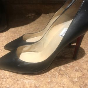 Used Christian Louboutin Black great condition